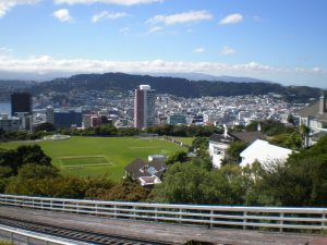 Wellington Home of the All Blacks rugby team