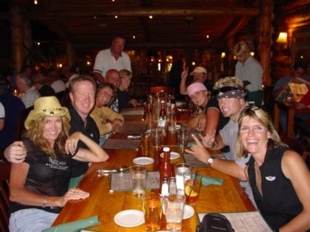 Dinner in Jackson Hole
