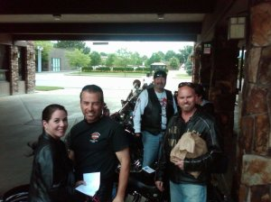 Ken and Sherry Romero, Craig Dearing and myself
