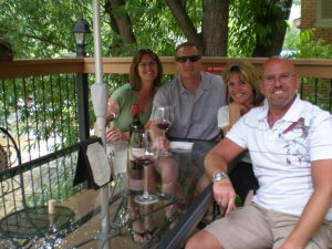Us at the Creekside Cellar