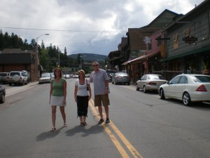 Main street in Evergreen
