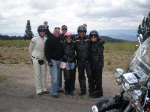 Cory, Heidi, Michael, Berkley Linda and I