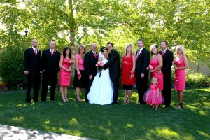 The wedding group!!