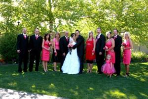 The wedding group!!
