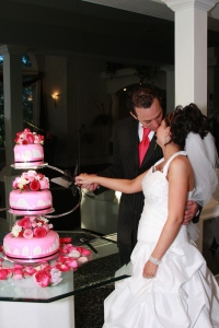 Working on the Cake
