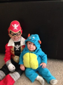 Talon and Mason halloween 14